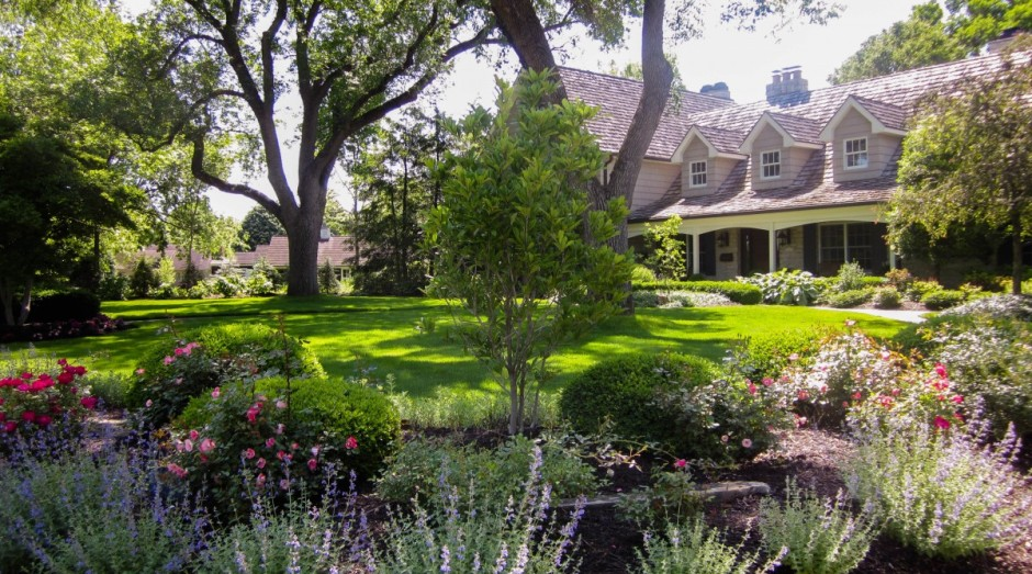 The importance of choosing the right trees for Large front garden ideas