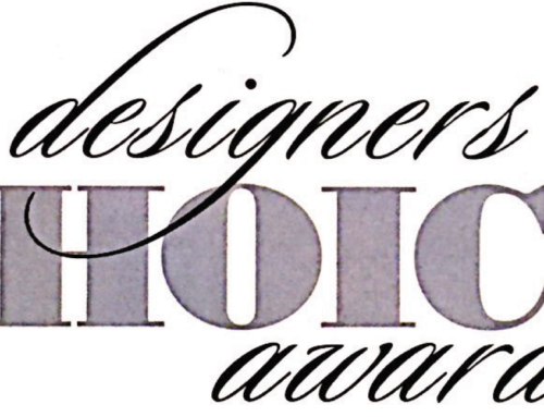Designer's Choice 2017 Award