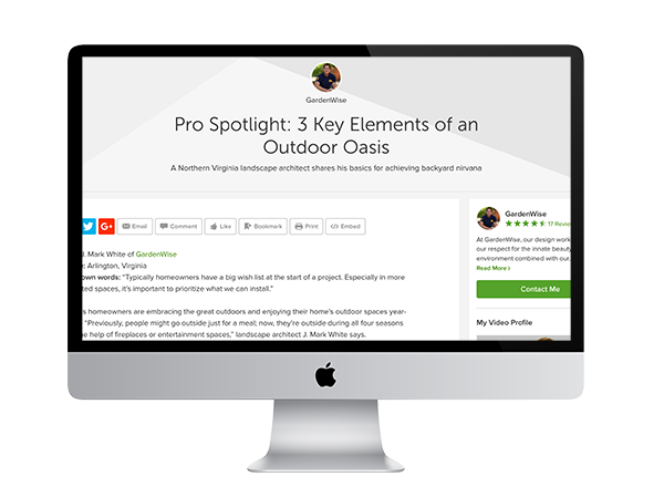 Houzz Continues The Praise For J. Mark White As Leading Landscape Architect  And Garden Designer. In A Pro Spotlight Article, They Share Some Of Marku0027s  Tips ...